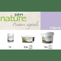 Peinture naturelle végétale Mauve