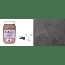 Chaux véritable ébène anthracite déco stuc ou badigeon intérieur extérieur - 3kg