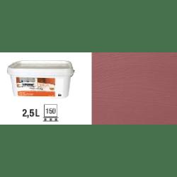 Peinture naturelle à la chaux intérieur extérieur Rouge Toscan - 2