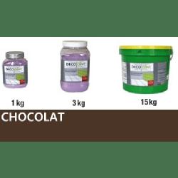 Joint carrelage marron chocolat