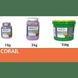 Joint carrelage orange corail