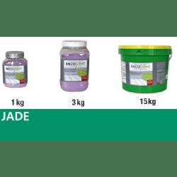 Joint carrelage vert jade