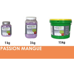 Joint carrelage orange mangue