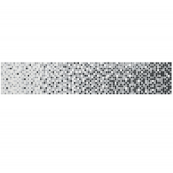 Mosaïque piscine Dégradé Brume 46 - 31.1 x 248,8 cm - vendu au module