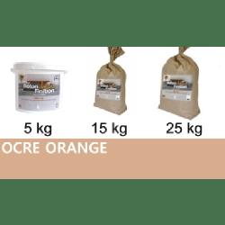 Béton ciré coloré Ocre Orange KIT COMPLET