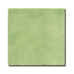 Faience rustique patinée VERT 15x15 cm - 1m²