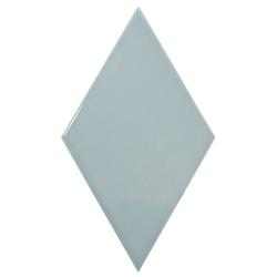 Faience losange bleu brillant 15x26cm RHOMBUS WALL ASH BLUE 22752 - 1m² Equipe