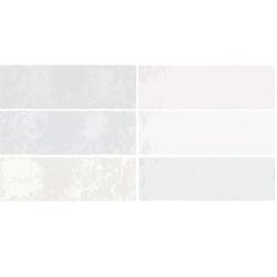 Faience nuancée effet zellige mix pastel 6.5x20 RIVIERA MELANGE 25864- 0.5 m² Equipe