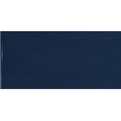 Faience effet zellige bleu nuit 6.5x13.2 VILLAGE ROYAL BLUE 25572 - 0.5 m²