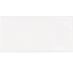 Faience effet zellige blanche 6.5x13.2 VILLAGE WHITE 25588 - 0.5 m²