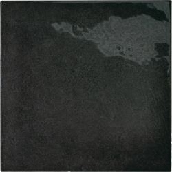 Faience effet zellige noir 13.2x13.2 VILLAGE BLACK 25598 - 1 m²