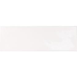 Faience effet zellige blanche 6.5x20 VILLAGE WHITE 25642 - 0.5 m²