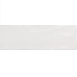 Faience nuancée effet zellige blanche 6.5x20 RIVIERA WHITE 25837 - 0.5 m² Equipe