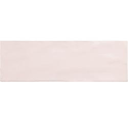 Faience nuancée effet zellige rose 6.5x20 RIVIERA ROSE 25839-0.5 m²