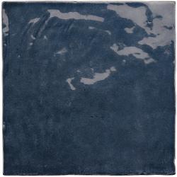 Faience nuancée effet zellige bleu roi 13.2x13.2 LA RIVIERA BLUE REEF 25861-1m²
