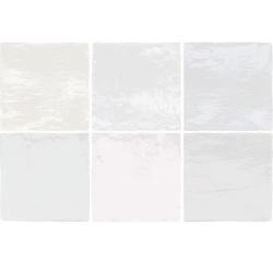 Faience nuancée effet zellige mix pastel 13.2x13.2 RIVIERA MELANGE 25863 - 1 m²