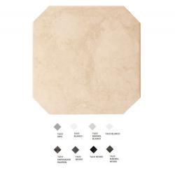 Carrelage octogonal marbré à cabochons 20x20 OCTAGON MARMOL BEIGE 21009 - 1m²