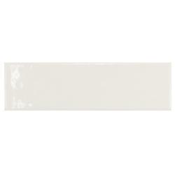 Carrelage uni brillant blanc 6.5x20cm COUNTRY BLANCO 21531 0.5m²