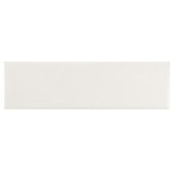 Carrelage uni mat blanc 6.5x20cm COUNTRY BLANCO MAT 21552 0.5m²