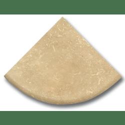 Étagère travertin beige 15x15 cm