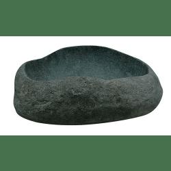 Vasque en pierre polyforme brute petite