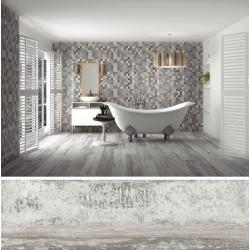 Carrelage imitation parquet vieilli ORIGEN GRIS - 20.2x66.2CM - R9 - 1.20 m² GayaFores