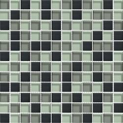 Mosaique salle de bain Glasmosaik graffitmix 2.3x2.3 cm - 30x30 - unité