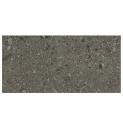 Carrelage mat style pierre 60x120cm HANNOVER BLACK R10 - 1.44m² Baldocer