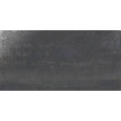 Carrelage grand format style métallisé rectifié IONIC STEEL 60x120 cm - 1.44 m²