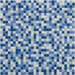 Mosaique piscine 10x10mm LAGOON10 31.8x31.8 cm - 1.01m²