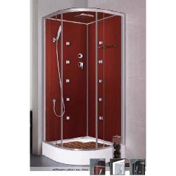 Cabine de douche complète Noire