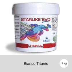 Litokol Starlike EVO Bianco Titanio C.105 Mortier époxy - 5 kg