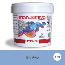 Litokol Starlike EVO Blu Avio C.330 Mortier époxy - 5 kg