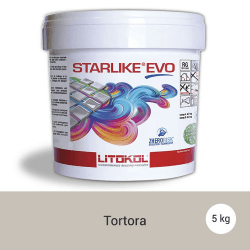 Litokol Starlike EVO Tortora C.215 Mortier époxy - 5 kg
