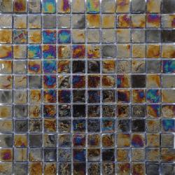 Malla Boreal Noche - Mosaique en verre 30x30cm - unité