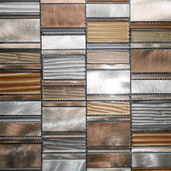 Malla Etrusco Cobre - Mosaique en verre