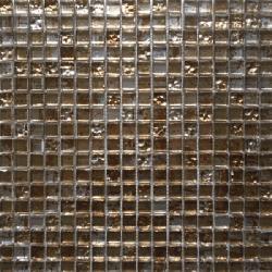 Malla Graffiti Gold - Mosaique en verre 30x30cm - unité