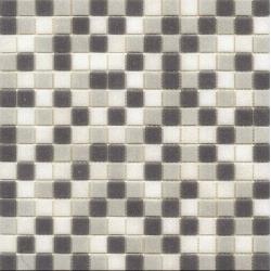 Mosaique piscine Mix de Gris bleuté GREY 32.7x32.7 cm - 2.14m²
