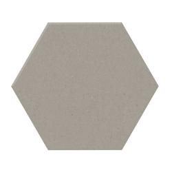 Carrelage tomette design unie Gris taupe STORM 15x17cm NEW PANAL - 0.5m²
