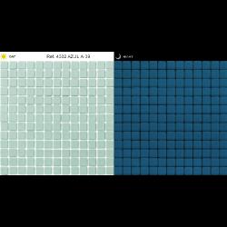 Mosaique piscine bleu phosphorescent 4502 31.6x31.6 cm - 1m²