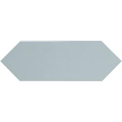 Faience navette crayon bleu ciel brillant 10x30 PICKET SKY BLUE - 1m²
