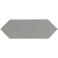 Faience navette crayon gris brillant 10x30 PICKET GREY - 1m²