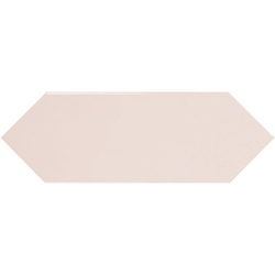 Faience navette crayon rose brillant 10x30 PICKET PINK - 1m²