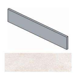 Plinthe ivoire effet ciment 9.4x60 cm TORTONA BONE - 10.20mL