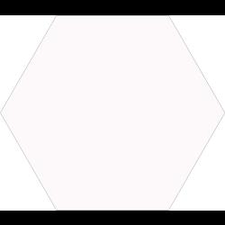 Carrelage tomette blanche 33x28.5 OPAL BLANC - 1m²