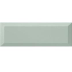 Carrelage Métro biseauté 10x30 cm ACQUA brillant - 1.02m² Ribesalbes