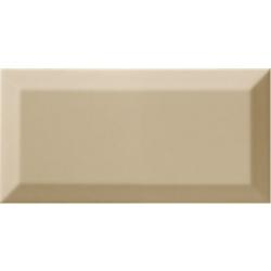 Carrelage Métro biseauté olive brillant 10x20 cm - 1m²