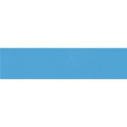 Carreau métro plat bleu azur brillant 10x30 cm - boite de 1.02m²