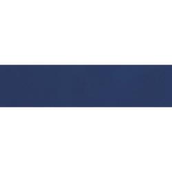 Carreau métro plat bleu marine brillant 10x30 cm - boite de 1.02m²