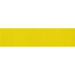 Carreau métro plat jaune brillant 10x30 cm - boite de 1.02m²